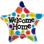 "WELCOME HOME BALLOON  18""  19489-18"